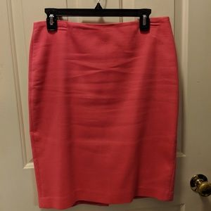 Talbots pencil skirt, bright pink